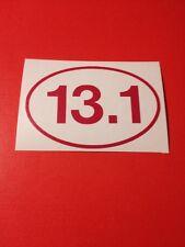 13.1 Pink Vinyl Die Cut Decal,half Marathon,run,window,car,t ruck,laptop,iPad