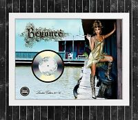 BEYONCE KNOWLES B DAY CUADRO CON GOLD O PLATINUM CD EDICION LIMITADA. FRAMED