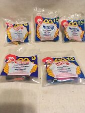 Hotwheels For McDonalds Lot Of 5 Variety New Open Pack Blue