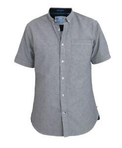 D555 Norman Button Down Oxford Tall Shirt Grey (LT 1XLT 2XLT 3XLT 4XLT)