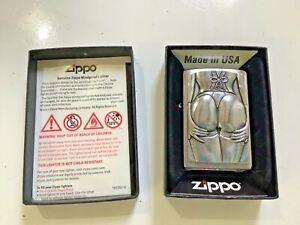 New Stocking Girl Zippo Windproof Lighter