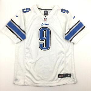 Nike Detroit Lions Youth Jersey Matthew Stafford #9 On Field NFL Football Kids L
