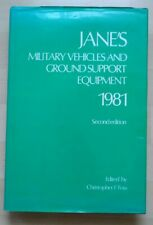 JANE`S MILITARY VEHICLES AND GROUND SUPPORT EQUIPMENT 1981 Second edition, Foss