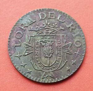 @REPRODUCCION@ LORA DEL RIO Sevilla 25 CENTIMOS 1937 moneda España GUERRA CIVIL