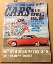 Vintage Cars The Automotive Magazine March 1964  Custom Restoration