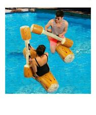 2pcs/set Joust Pool Float Game Water Sport Inflatable Swimming Pool Accessories