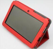 Tablet 7 pulgadas Quad core 1 GB de RAM 8 ROM FULL HD FUNDA ROJA