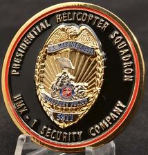 HMX Challenge Coin Marines Security Presidential Helicopter Squadron POTUS Trump