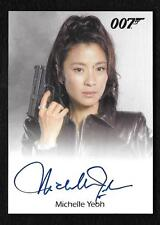 "James Bond Archives Final Edition Autograph Michelle Yeoh as Wai Lin  ""Limited"""