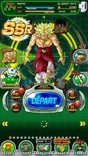 JAP / GLO Dokkan Battle Compte 2980 DS LR Account iOS/Android Rank 225