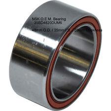 NSK OEM 35BD4820DUM6 SANDEN TRSE07 A/C Clutch Bearing,48mm X 35mm X 20mm