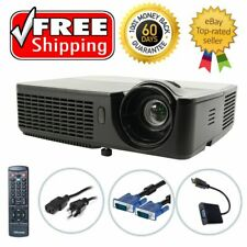InFocus IN112 DLP Projector Refurbished 3D 2700 ANSI HD 1080p HDMI w/adapter