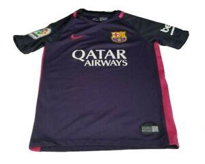 Barcelona FC Nike Puple Pink Girls Jersey Size Small 8-10