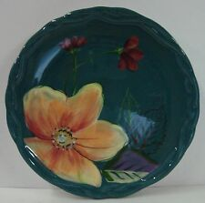 """Tracy Porter BLOSSOM COLLECTION 8-1/8"""" Salad Plate HAND PAINTED"""