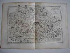 CARTE du gouvernement de l'ORLEANOIS par BONNE carte ancienne 1784   21