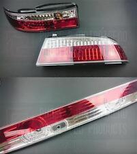 P2M Phase 2 Crystal Clear Rear Tail Lights Kit 3pcs S14 Zenki 240SX Silvia New