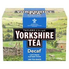 Taylors Yorkshire DECAFFEINATO 160 bustine di tè 500G- venduto in tutto il mondo dal Regno Unito