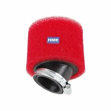 hmparts Dirt bike Filtre à air pour Mini Pocket Bike 2 pièces D38 mm Rouge - W