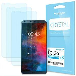 Lg g6 3 x Spigen screen protector