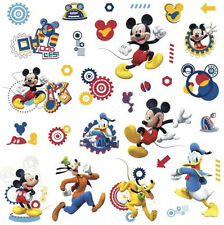 Disney MICKEY MOUSE CLUBHOUSE  wall stickers 31 decals room decor Pluto Goofy