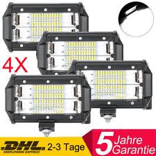 4X 72W LED Arbeitsscheinwerfer Offroad Scheinwerfer 12V 24V für Jeep SUV Bagger