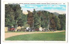 USA, New Hampshire; Dolly Copp Camp Ground, Pinkham Notch PPC 1933 Wolfeboro PMK