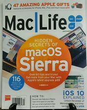 Mac Life December 2016 Hidden Secrets of Mac OS Sierra Apple FREE SHIPPING sb