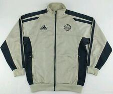 Vintage Adidas 2001-2002 AJAX AMSTERDAM Warm Up Soccer Jacket Size Mens Medium M