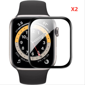 For Apple Watch Series 7 41mm 45mm Soft 3D Full Cover Screen Protector