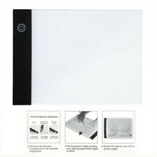 LED Light Box A5 Painting Tracing Board Copy Pad Panel Drawing Tablet Stencil US