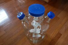 Bellco spinner u-carrier reactor  Glass culture 8 flask tray  8000 ml  liters 8L
