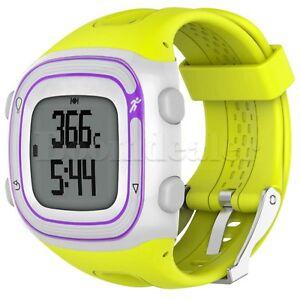 Silicone Band Wrist Strap for Garmin Forerunner 10 15 GPS Running Watch