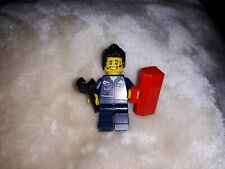 Lego genuine minifigure mechanic with toolbox and spanner