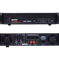 GEMINI 2000 WATTS XGA-2000 amplificatore finale stereo NUOVO GARANZIA ITALIANA