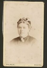Antique CDV. Amie of Ramsgate Age 44 by Palmer of Granville Marina. March 1884