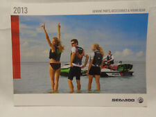 2013 Sea-Doo parts and accessories and riding gear sales brochure