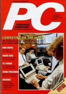 D131710 PC Plus Vintage Computer Magazine Volume 3 Nr. 8 December 1989