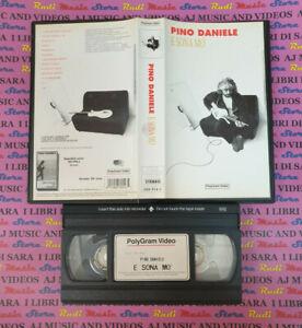 VHS PINO DANIELE Esona mo' 1993 POLYGRAM 088 954-3 no cd mc dvd lp (VM5)