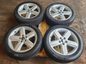 """JEEP COMPASS SET OF 4 18"""" GENUINE ALLOY WHEEL WITH TYRES 215/55/R18"""