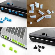 13p Protective Ports Cover Silicone Anti-Dust Plug Stopper for Laptop Notebook B