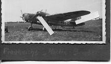 FOTO BEUTE FLUGZEUG AVIA B 71  LUFTWAFFE FRANCE  ORIGINAL  SE+DM TARGET TOWING
