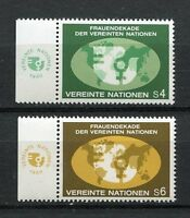 19312A) UNITED NATIONS (Vienna) 1980 MNH** Women Decade + lab.