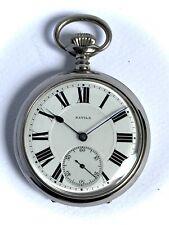 WATCH & Co. S.A. Geneve - HAVILA 30s NOS - Silver 800 Poket Watch - 50mm