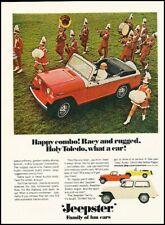 1967 Jeep Kaiser Jeepster  Band Vintage Advertisement Print Art Car Ad K110