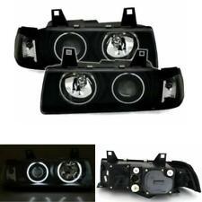 BMW E36 Angel Eye Projector Headlights CCFL 4 Door Saloon Estate RHD 1990-1999