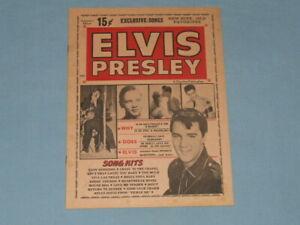 "1965 Elvis ""Song Hits"" Magazine (All Elvis)"