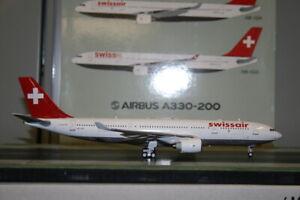 Inflight200/J-Fox 1:200 Swissair Airbus A330-200 HB-IQA (JF-A330-2-001)