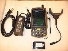 SYMBOL MOTOROLA MC7596-PZCSUQWA9WR 128/512 2D BARCODE GSM CELLULAR QWERTY CAMERA