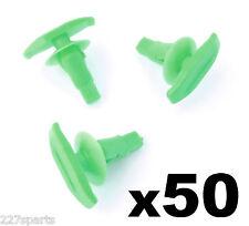 50x TOYOTA plastique weatherstrip & clips joint de porte en caoutchouc, vert joint de porte clip