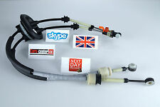 PEUGEOT 307 GENUINE GEAR CHANGE CABLES LINKAGE LINK TRANSMISSION CABLE 2444CF **